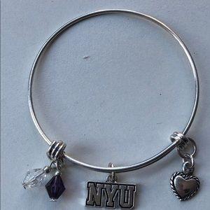 Jewelry - NYU Adjustable Bracelet